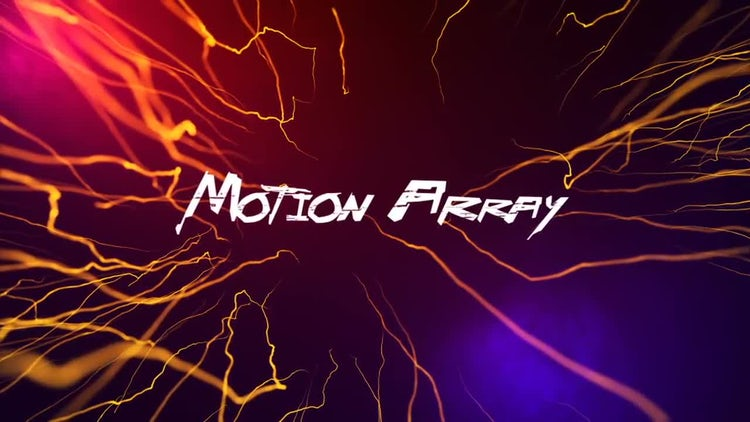 Electro Logo: After Effects Templates