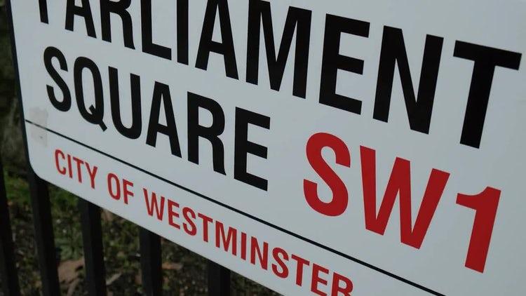 UK Parliament: Stock Video