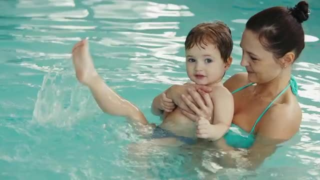Swimming Lessons: Stock Video