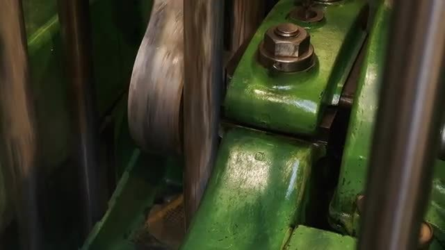 An Industrial Engine: Stock Video