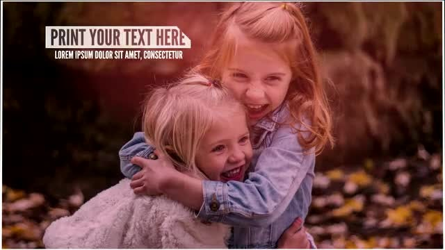 Hope & Love Photo Slideshow: After Effects Templates