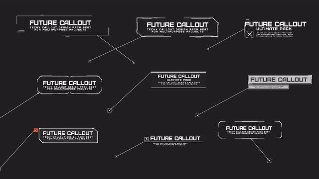 Modern Callout Pack: Motion Graphics Templates