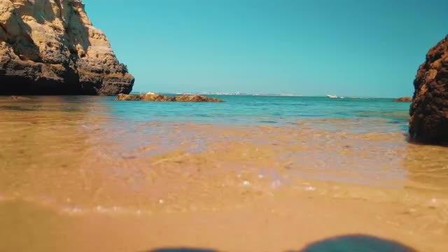 Amazing Beach: Stock Video