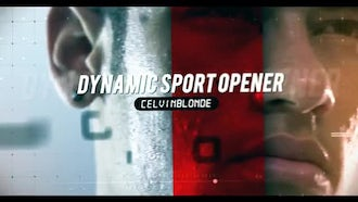 Dynamic Sport Slide: After Effects Templates