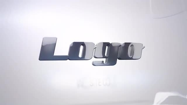Glass Simple Logo: After Effects Templates