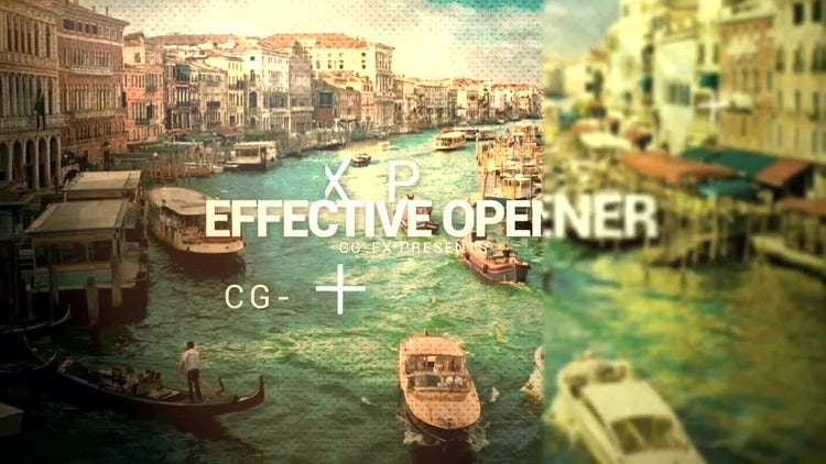Effective Opener: After Effects Templates