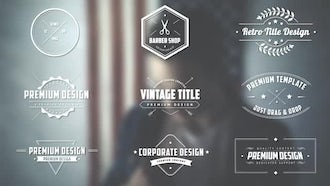 Retro Title Pack: After Effects Templates