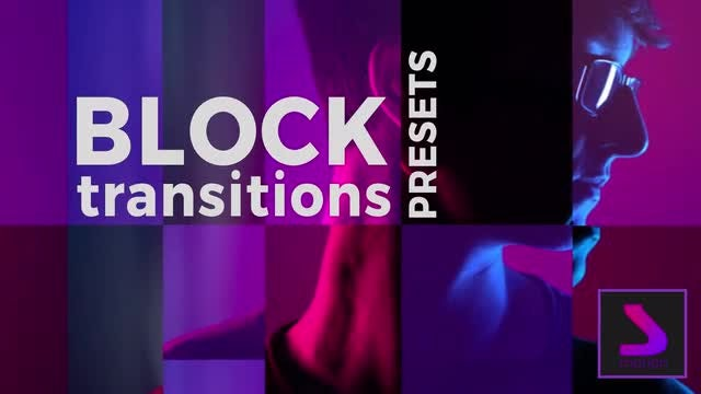 Block Transitions Presets: After Effects Presets