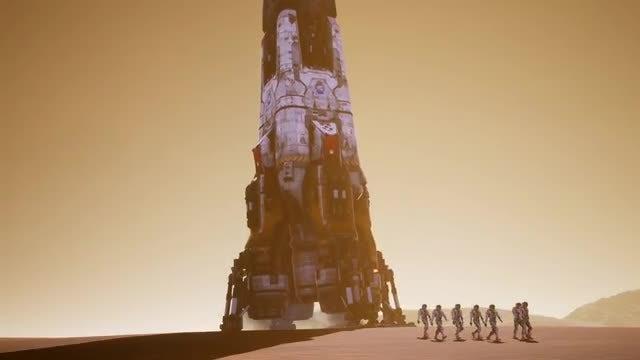 Astronauts Epic Walk Pack: Stock Motion Graphics