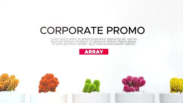 The Corporate Promo: After Effects Templates