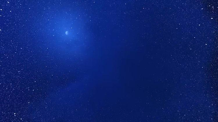 Snowy Night: Motion Graphics