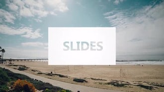 Drop Slides Logo: After Effects Templates