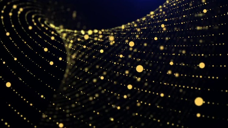 Gold Background: Motion Graphics