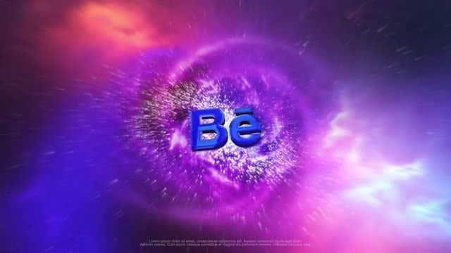 Cosmic Logo: After Effects Templates