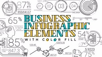 30 Line Infographic Elements: Motion Graphics