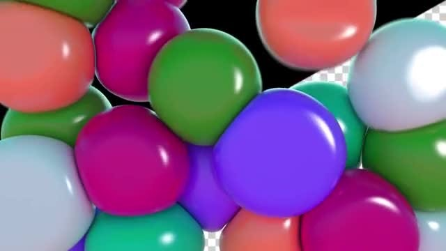 Soft Balls Transition Pack: Stock Motion Graphics