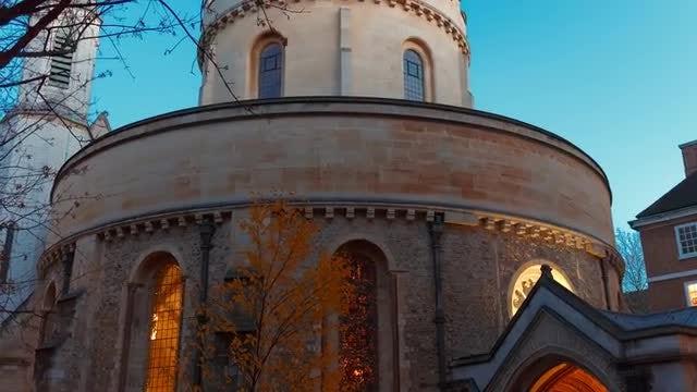 Temple Church In London: Stock Video
