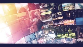 Modern Video Slide: After Effects Templates