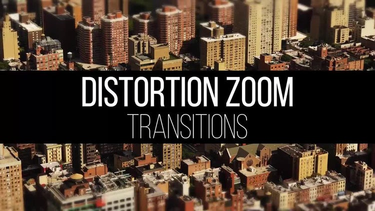Distortion Zoom Transitions: Premiere Pro Templates