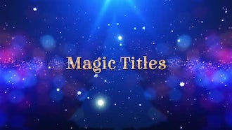Magic Titles: After Effects Templates