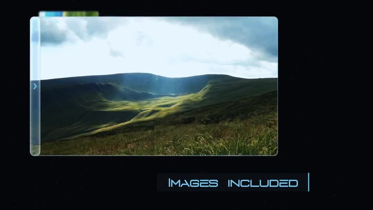Slideshow - Expanding Display: After Effects Templates