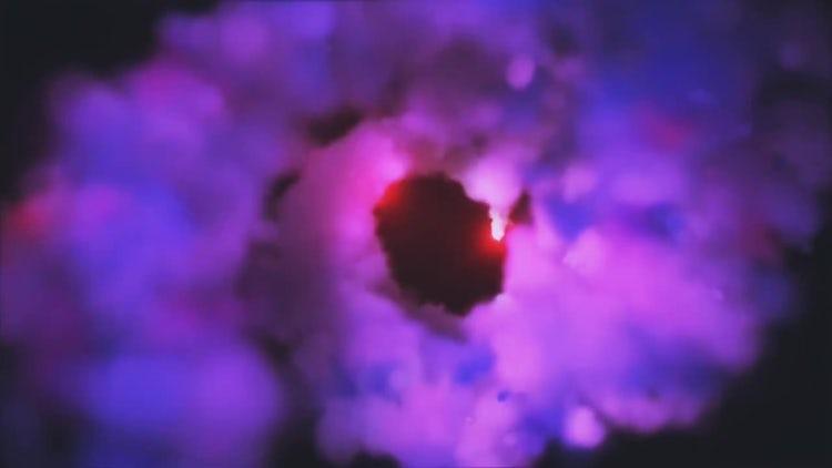 Color Smoke Spiral Logo Reveal: Premiere Pro Templates