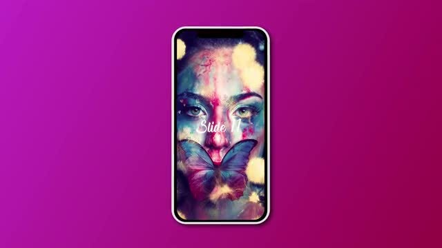 Ink Instagram Slideshow: After Effects Templates