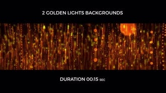 Golden Light Backgrounds: Motion Graphics
