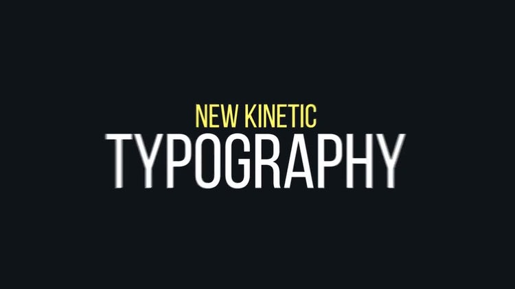 Big Typography Package: After Effects Templates