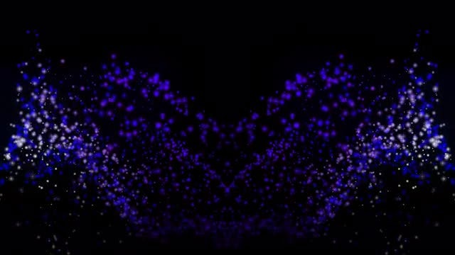 White-Blue Stars 4K Background: Stock Motion Graphics