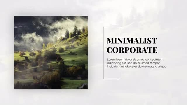 Elegant Presentation - Minimalist Corporate: Premiere Pro Templates