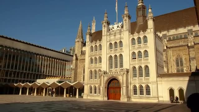 Guildhall Of England: Stock Video