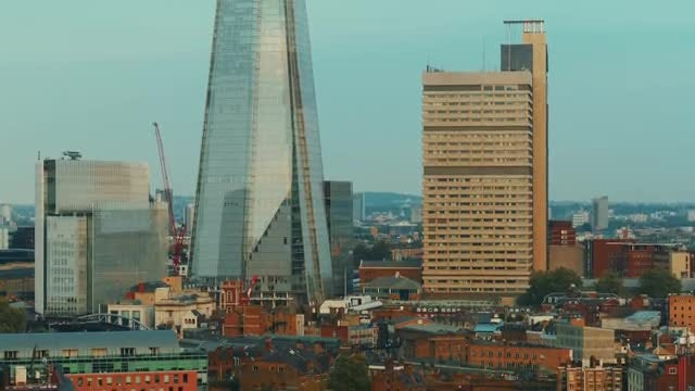 South Bank District: Stock Video