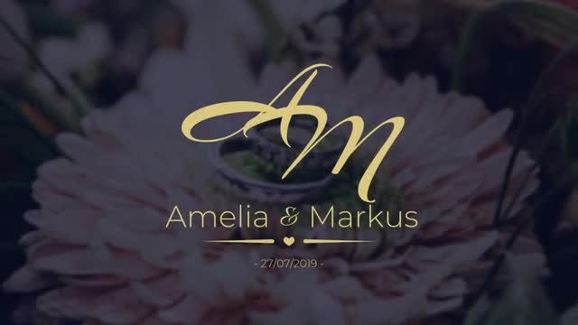 12 Romantic Wedding Labels: Premiere Pro Templates