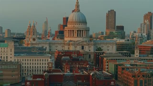 St. Paul's Cathedral: Stock Video