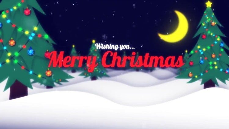Christmas Title: After Effects Templates