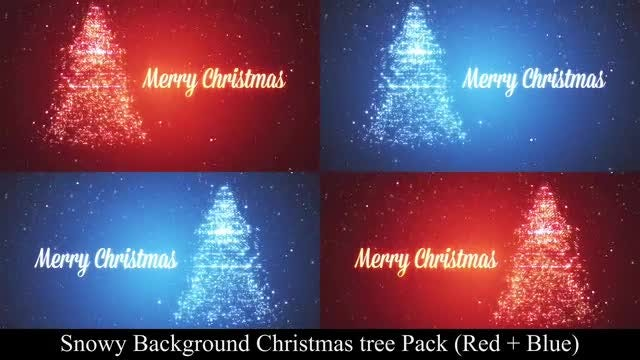 Rotating Christmas Tree Pack: Stock Motion Graphics