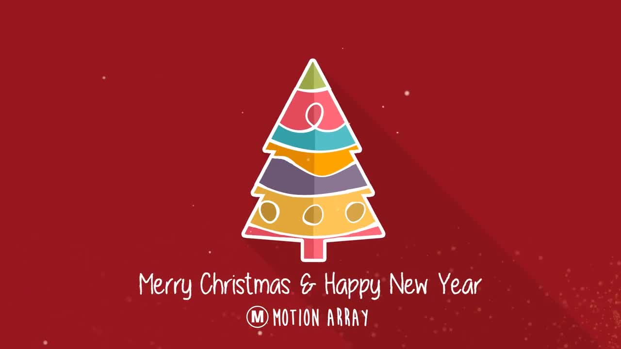Christmas Tree Minimal - After Effects Templates | Motion Array