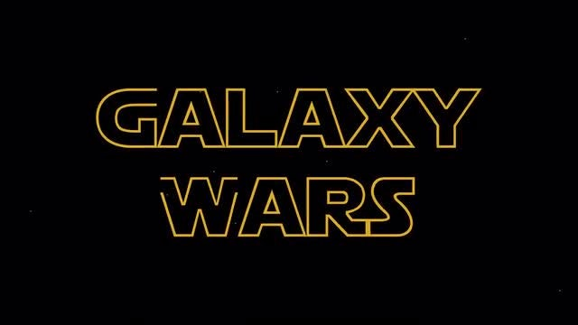 Galaxy Wars Titles: After Effects Templates