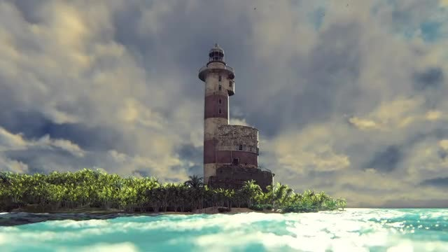 Night And Day Lighthouse Pack: Stock Motion Graphics
