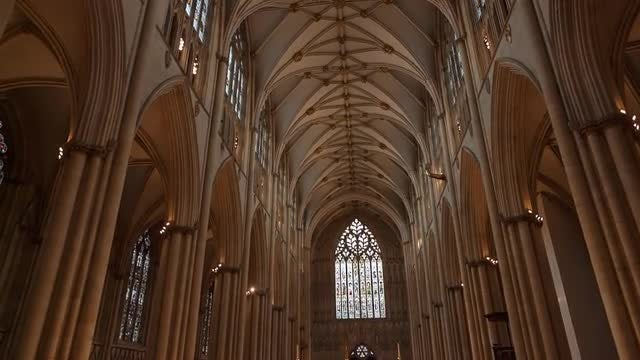 York Minster, England: Stock Video