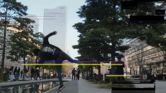 Digital Glitch Overlay: Stock Motion Graphics