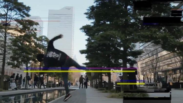 Digital Glitch Overlay: Motion Graphics