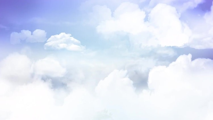 Flying In The Clouds 4K: Stock Motion Graphics