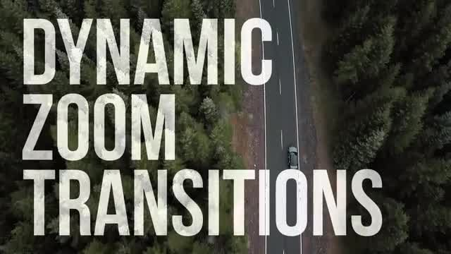 20 Dynamic Zoom Transitions: Premiere Pro Templates