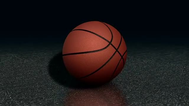 Profile Of A Basketball: Stock Motion Graphics