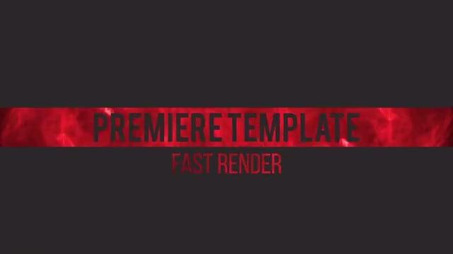 Smoke Titles: Premiere Pro Templates