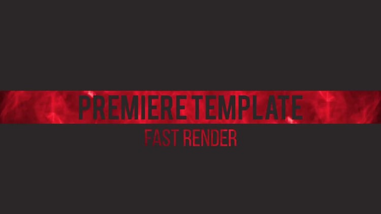 Smoke Titles: Premiere Pro Templates