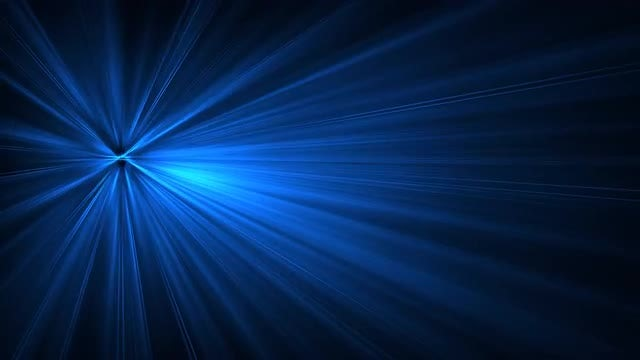 Blue Light Rays Glowing 4K: Stock Motion Graphics
