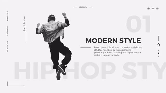 Dance Fashion Promo: After Effects Templates